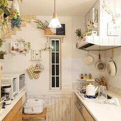 TAKARASTANDARD/キッチンと暮らす。/キッチン雑貨/DIY/令和元年フォト投稿キャンペーン 夜のキッチンです(*´∀`) 私は夜キッ…