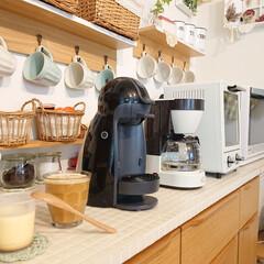記念品・大量購入の見積歓迎向けToffy 4カップコーヒーメーカー アッシュホワイト 主婦/台所/調理に!(ジューサー、ミキサー、フードプロセッサー)を使ったクチコミ「今朝の家事は色々やり疲れました⤵️(;´…」