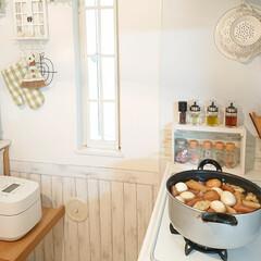 おでん/夕飯/キッチン/わたしのごはん 今日は朝からおでん作ってます♪ 朝からゆ…