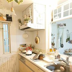Takara standard/ナチュキチ/DIY/キッチン 昨日ナチュキチで、買った食器を置く水切り…