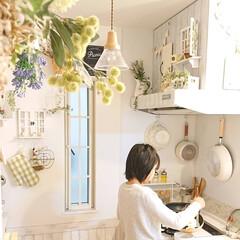 娘の手料理/DIY/キッチン/100均/わたしのごはん 日曜日の朝、たまぁ~に娘が朝ごはんを作っ…