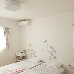 リズム時計工業 電波目覚まし時計 8RZ166SR03 | リズム時計工業(目覚まし時計)を使ったクチコミ「寝室の照明を新しく買いました🙌 新しい照…」
