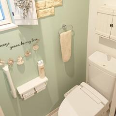 LIXIL/トイレ/DIY 今日はトイレ掃除を頑張りました♪ 毎日家…