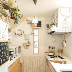 お昼/キッチン/雑貨/DIY 今日のお昼を食べる前にキッチンをパシャリ…