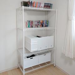 リミアな暮らし/息子の部屋/ニトリ収納/山善 昨日ニトリで買った収納BOXはこんな感じ…(1枚目)