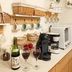 Vita/ワイングラス/DIY/雑貨 vitaで200円のワイングラスを買いま…