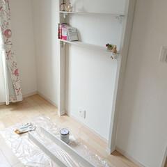 本棚DIY/リミアな暮らし/100均/DIY/雑貨 今日はお天気良いので、DIYしてます。 …