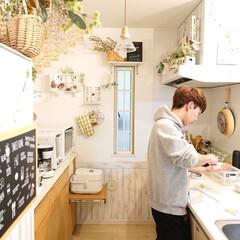 息子の手料理/リミアな暮らし/キッチン/DIY/雑貨 大学2年息子君 暇すぎて、味噌汁を作って…