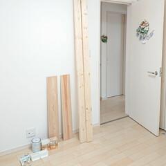 娘の部屋/カインズホームで購入/DIY 小5娘ちゃんが本棚を作って~✨とお願いし…
