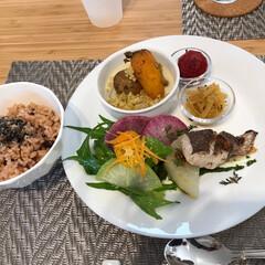 無農薬野菜/酵素玄米 酵素玄米ランチ。また食べに行きたいな♪