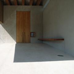 ポーチ/左官/漆喰壁 エントランスポーチ