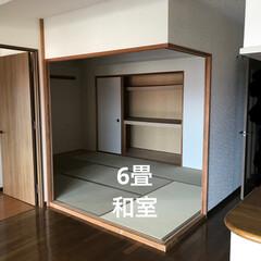 納戸/リフォーム/インテリア/収納 和室が広かったので、3畳残して 後は納戸…