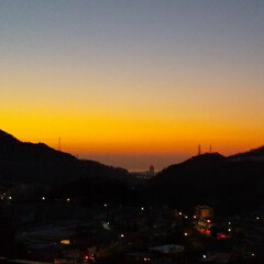 朝🌄/朝日/空/風景 今朝の空☀️