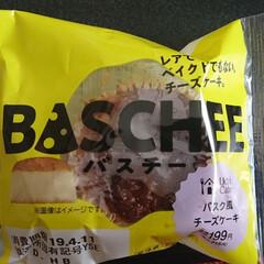 バスク風チーズケーキ/バスチー/LAWSON/スイーツ やっと買えた~(º﹃º)♡♡ LAWS…