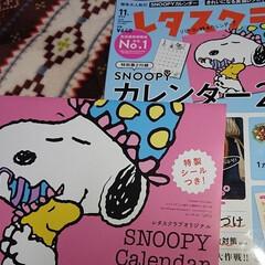 2019カレンダー/SNOOPY/レタスクラブ レタスクラブの SNOOPYカレンダー(…