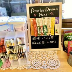 おうちカフェ ダイソーやセリアのペンスタンドを使って、…(1枚目)