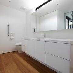 建築/洗面所 『那須の家』洗面所