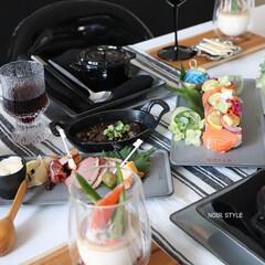 zwilling/ストウブ/レクタンギュラープレート/ダブルウォールグラス/ホーロー鍋/食器/... ワインで軽いお家飲みなら手軽にベジ寿司や…