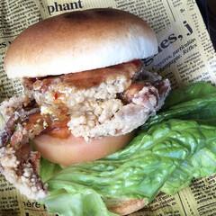 金のシャチ横丁/名古屋城/名古屋/愛知/旅/旅行/... 名古屋の旅で見つけた 珍しいハンバーガー…