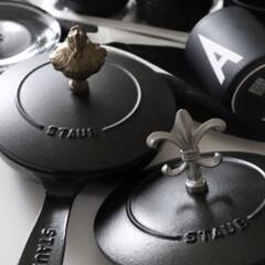 鉄/鉄鍋/スキレット/鍋/ノブ/ストウブ/... お気に入りの調理器具 ストウブの鉄が好き…