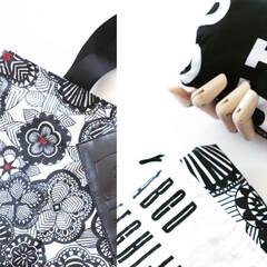 エコバッグ/バッグ/bag/marimekko/マリメッコ/絞り袋/... 雑貨大好き❤ ファッション雑貨としても大…