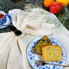 ごま油でケーキ/パウンドケーキ/おやつ作り/おやつ/デザート/手作り/... 🍴ごま油でパウンドケーキ バナナ🍌と黒豆…