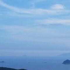 山/空/海/おでかけ/LIMIAおでかけ部/おでかけワンショット/... 海と空 月と雲 霧と森  💬ごめんなさい…(2枚目)