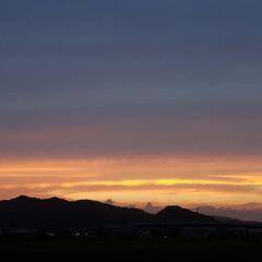 ワンコのいる暮らし/お散歩/夕陽/イマソラ/夕空/夕焼け/... 🌄🐩🚶♀️綺麗な夕焼け、撮れました~(…(3枚目)