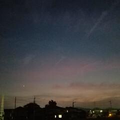紅白の水引/紅白/水引/景色/夕焼け/夕陽 昨日の🌅と夕焼け🎵 とっても綺麗でしたよ…(3枚目)
