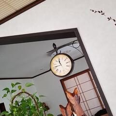 ステンシルシール/シール/お部屋にアクセント/ダイソー/100均/雑貨/... ステンシルシールを貼ってお部屋にアクセン…