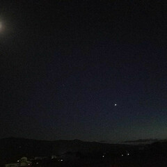 木星/土星/空と月と星/月/空/星/... 🌃空と月と星(木星 土星)  一枚目 左…(3枚目)