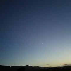 木星/土星/空と月と星/月/空/星/... 🌃空と月と星(木星 土星)  一枚目 左…