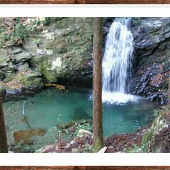 おでかけ/滝/美しい滝 小さなきれいな滝