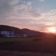 そら/夕陽/お出かけ 夕陽✨ この日の夕陽は、何だか優しく包ま…