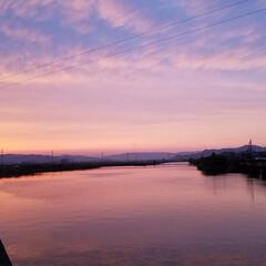 草花/空/いまそら/夕焼け空/夕焼け/夕陽/... 素敵な夕焼けの景色✨  一枚目は、先日の…(1枚目)