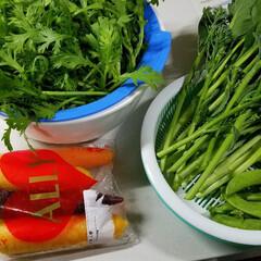 人参/サラダ/野菜/おかず/野菜サラダ/家庭菜園/...   🍴最近はまってるサラダ🥗‼️  と言…