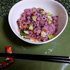 ちらし寿司/さっぱりごはん/夏の簡単ごはん/グルメ/フード/おうちごはん/... 梅酢を使った夏のさっぱりちらし寿司  材…