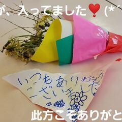 嬉しい一日/嬉しい出来事/プレゼント/花束/love/草花/... 🌞今日は、風がありましたが、秋晴れのお天…(7枚目)