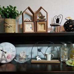 蓮の花 クリスタル ガラス 置物 インテリア 花 ハス 風水 開運 サンキャッチャー(その他インテリア雑貨、小物)を使ったクチコミ「 お気に入りの雑貨🎵 何となしか可愛い物…」(1枚目)