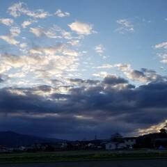 空/散歩道/風景 🐩🚶♀️散歩道の景色~🌥️  Ⅰ 空も…