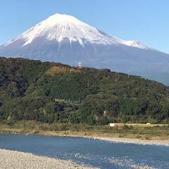 秋 昨日の富士山💓