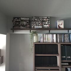 本棚/本/DIY/100均/インテリア/収納 【100均DIY】 飾り本棚。 詳しくは…
