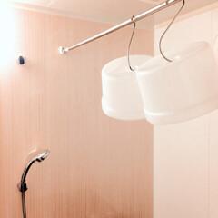 整理収納/ヌメリ予防/カビ予防/S字フック/吊るす収納/風呂イス/... 【うちの収納】 風呂イスを吊るしてみた。…