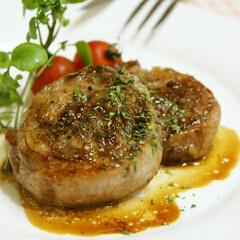 マイレシピ/料理 ポークロールステーキ