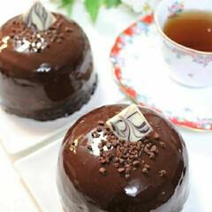 料理/グラサージュ/手作り/手作りケーキ/ケーキ/ムースケーキ/... チョコレートムースケーキ