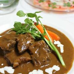 マイレシピ/料理 牛肉の赤ワイン煮
