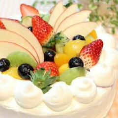 料理/バースデーケーキ/誕生日ケーキ/誕生日/ショートケーキ/ケーキ/... 数年前に息子に作ったバースデーケーキ