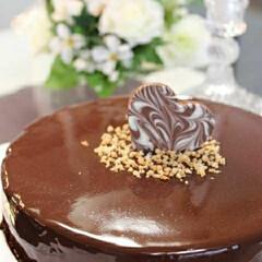 料理/バースデーケーキ/誕生日ケーキ/誕生日/ケーキ/手作りケーキ/... 数年前クックパッドのお友達の誕生日に贈っ…