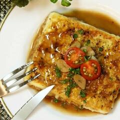 マイレシピ/料理 豆腐のガーリックステーキ