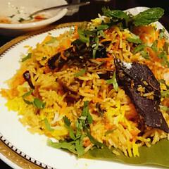 インド料理/ビリヤニ/今日何食べた? ビリヤニ最高!